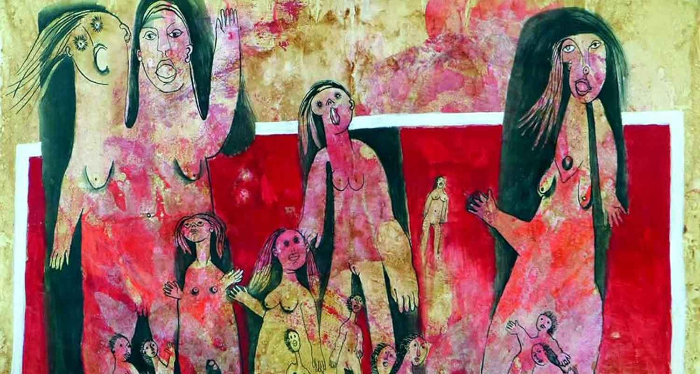 Ans Wortel, vrouwelijke kunstenaars deel 1